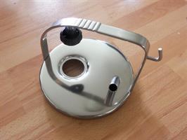 lock rostfri med 1 utgång, pulsator, 148mm