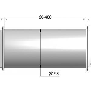 Veggventil AERO 125