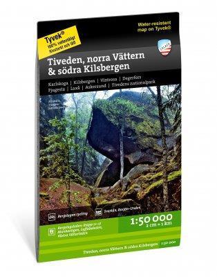 Tiveden, Norra Vättern & södra Kilsbergen 1:50.000