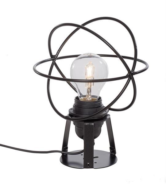 Atom bord - svart