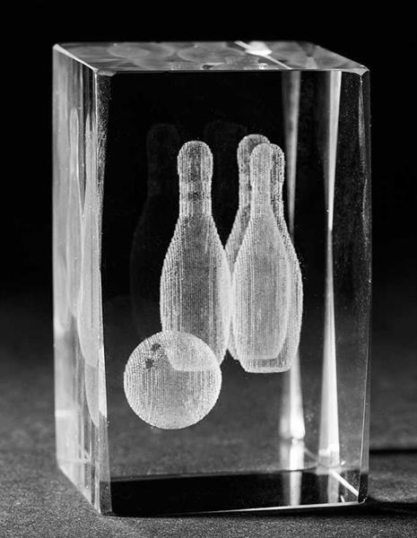 3D Glas Bowling