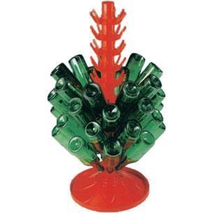 roterande flaskträd, 45 flaskor