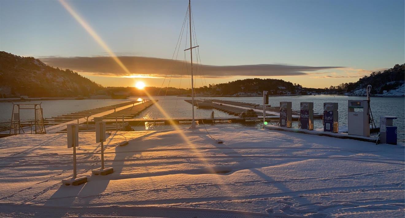 PROFF. 3,25m båtplass vinteråret inkl parkering