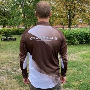 Cold Skills Run Zipp Shirt LS men S