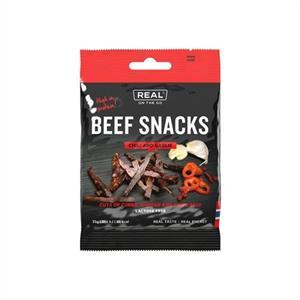Beef Snacks Chili and Garlic