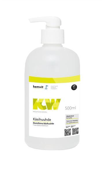 Handdesinfektion Gel.  500 ml med pump
