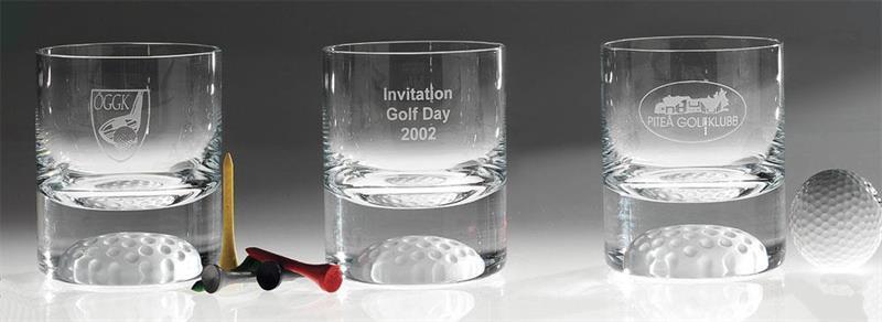 Whiskeyglas Golf 25 cl