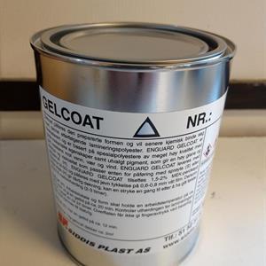 Gelcoat Polycor Ral 9010 1kg