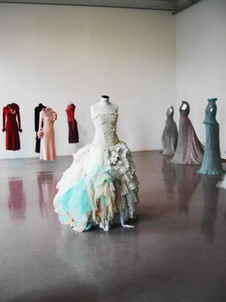 'Clothing as art' - Kunstbanken, Hamar, Norway