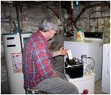 Radonsniffing i kjeller