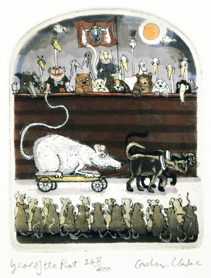 Year of the Rat, 12,5 x 10 cm.