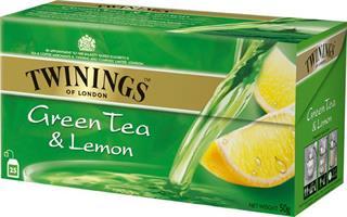 Twinings Green te & Lemon
