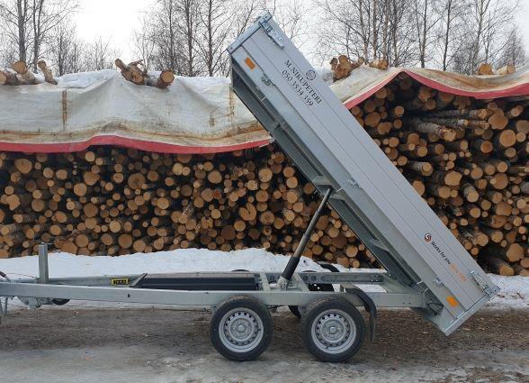 Perävaunu sähkökipillä 2700kg