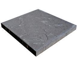 Helle Skiferpreg 50x50x5 cm koksgrå