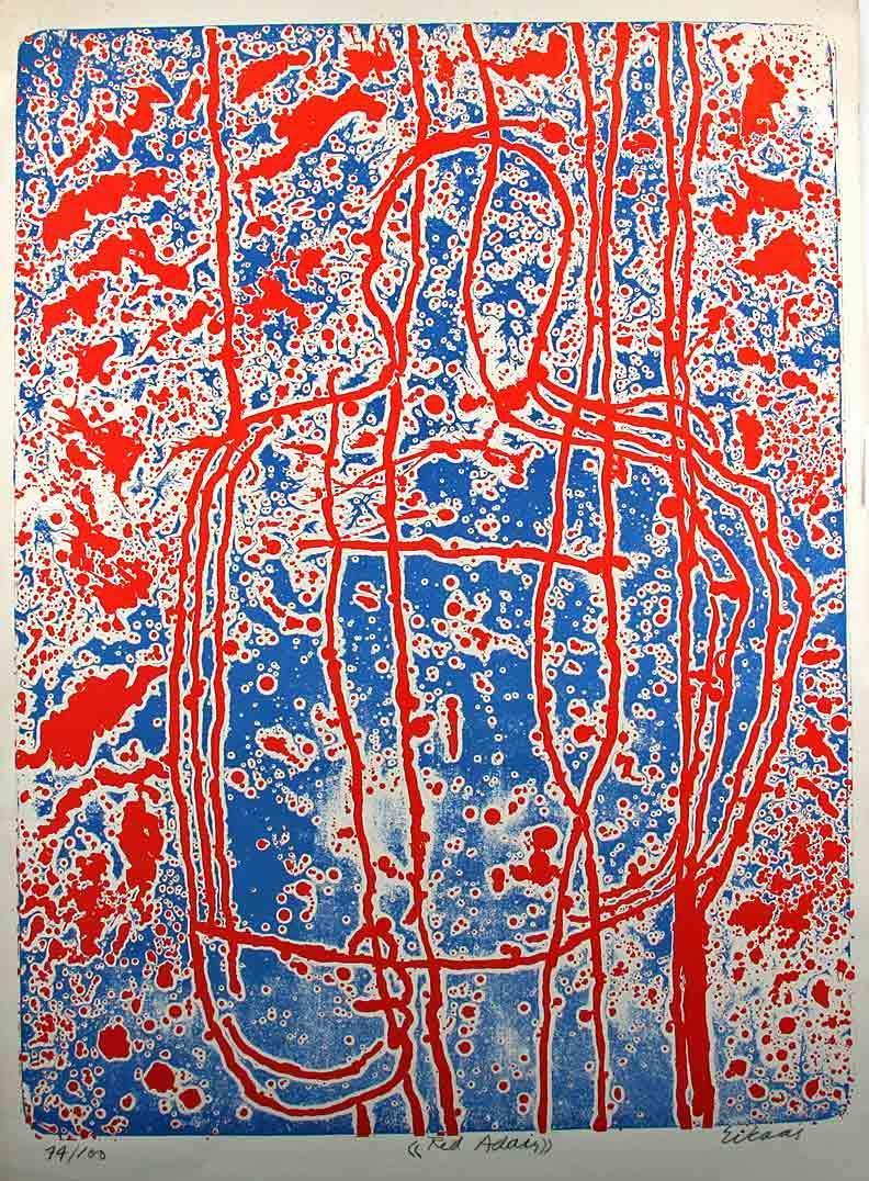 """""""Red Adair"""" litografi"""