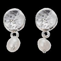 Örhänge silver med pärla