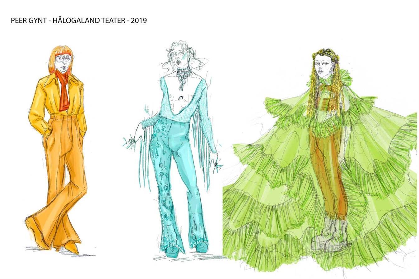 Peer Gynt - Hålogaland Teater - Director: Eline Arbo - Costume Design: Christina Lovery