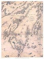 Ornö /sjökort