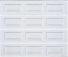 Leddport GTS, standard speil, stål, hvit 500x220