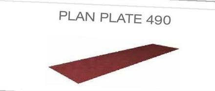 Plan plate 4900 mm