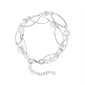 Armbånd perler & krystall