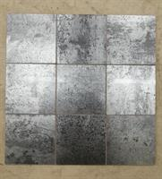 MYYTY!   2,7 m2 erä Metal Stone Silver Black 9,8x9,8