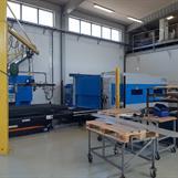 Produktionshall 4 Laseravdelning