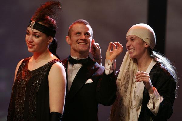 Own Voice - Live TV - Show, Director Svein Sturla Hugnes, Costume design; Christina Lovery & Trude Berg