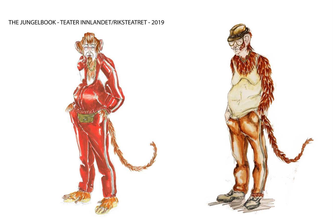 The Jungel Book - Teater Innlandet/Riksteatret - Director: Arvid Ones - Costume Design: Christina Lovery