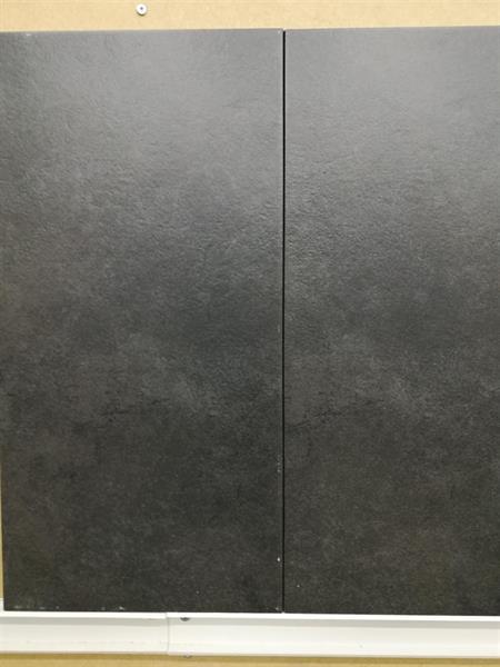 25,00€/m2 Iside Nero 30x60cm, musta