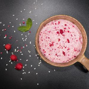 Rice Pudding and Berries