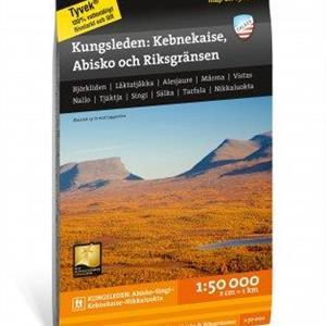 Kungsleden: Kebnekaise, Abisko & Riksgränsen 1:50.000