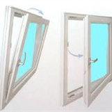 PVC rømningsvindu 100x80 cm - Kun 2000,- lagerført