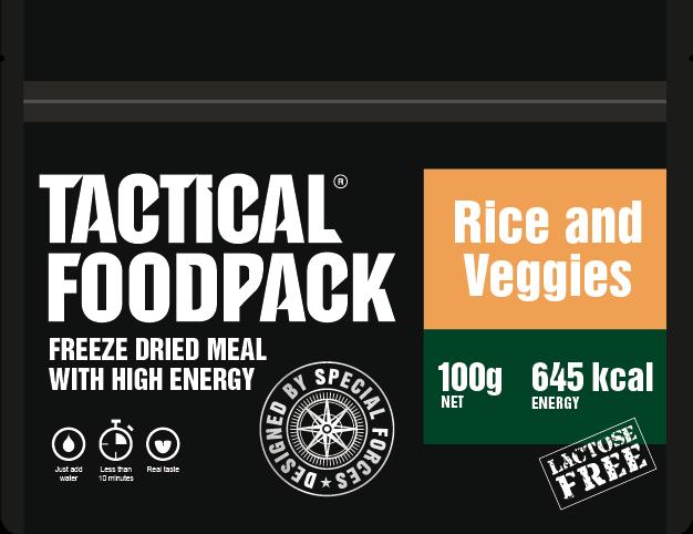 Rice and veggies