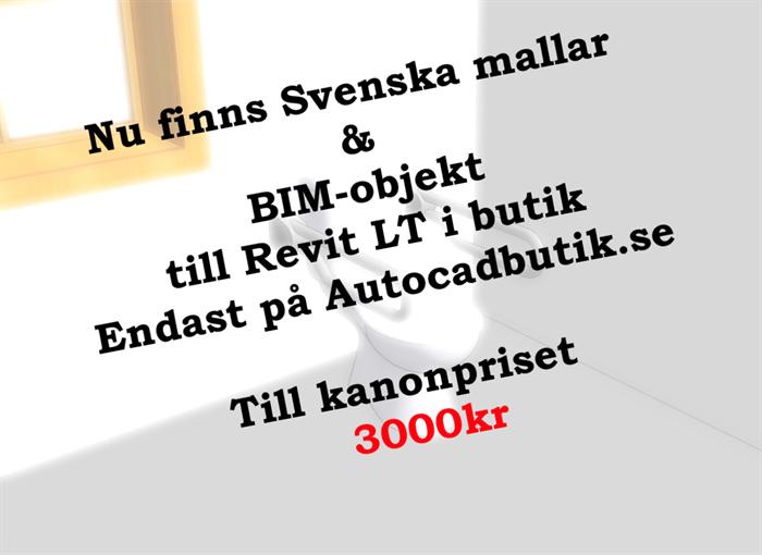 Svenska mallar & BIM-objekt nu i butik