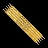Strumpstickor Glittrig plast 12 mm