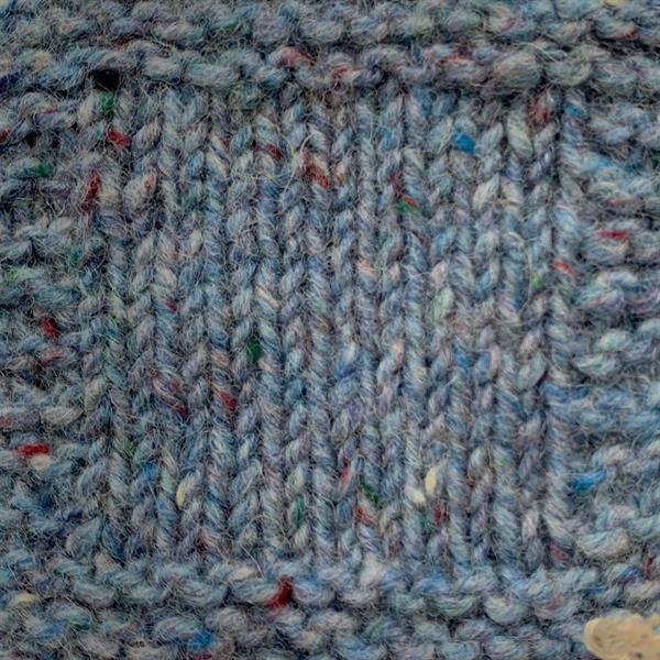 """11. """"Himmelsblå"""" Kilcarra tweed"""