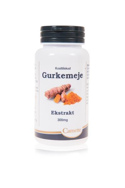 Gurkmeja 300 mg  90 kaps
