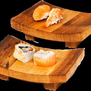 Sushi / Tapas assiett