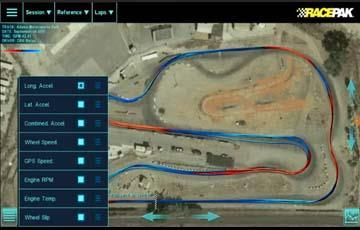 Racepak D3 Circuit Track Map Analysis Part 2 & Live Data Part 1 - Öppnas i nytt fönster