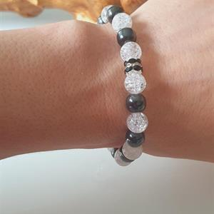 Yoga armband rock crystal -cleansing /healing