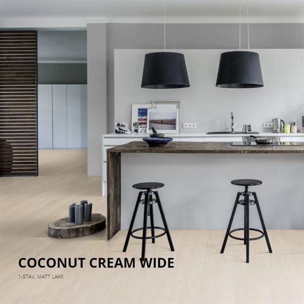 Kährs Life Coconut Cream Wide