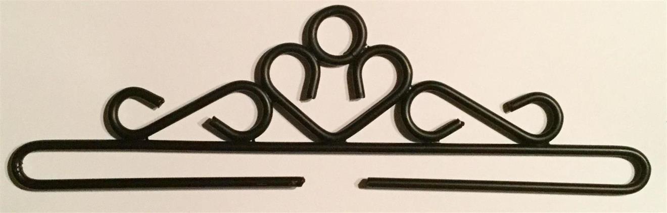 Beslag/hängare Svart 20,5 cm