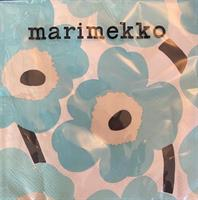 Marimekko unikko lunsj 20stk, turqouise