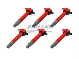 Coils, Red, Chrysler V6 '06-'10, 6-Pack