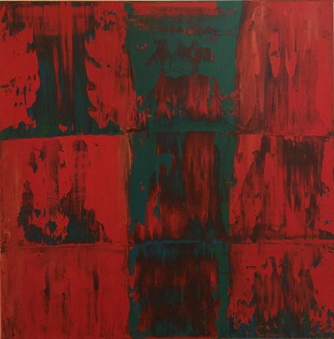 Abstrakt 2, 60*60 cm