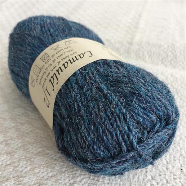 Jeansblå Lamauld