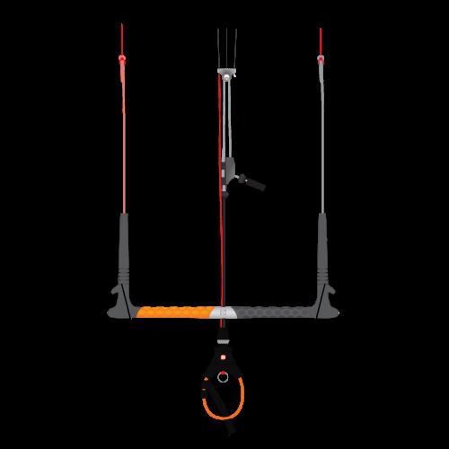 Peter Lynn Navigator Raw S (43cm bar, 5x22m lines)