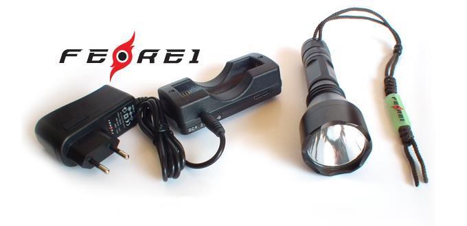 LED Eftersökslampa Vit