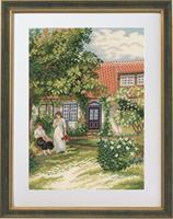 Damen i trädgården